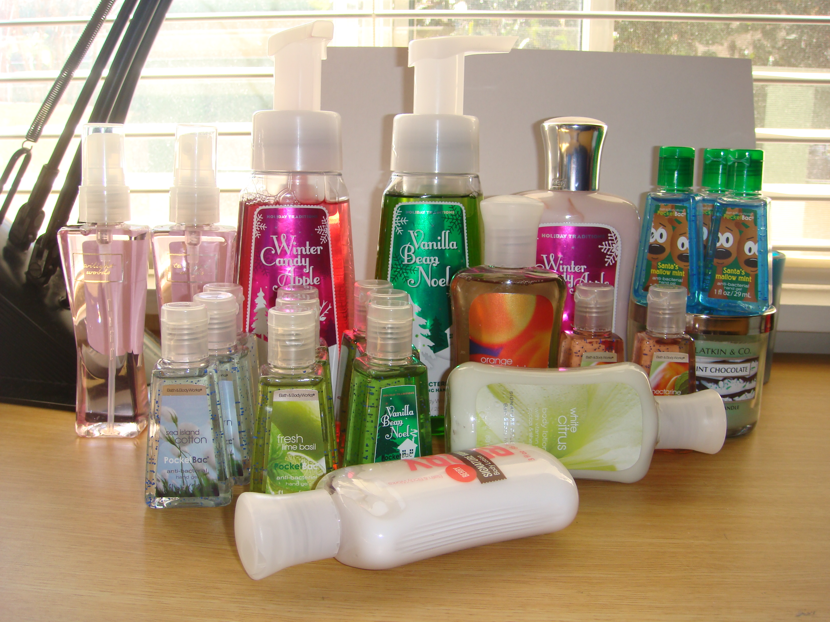 Bath Amp Body Works Semi Annual Haul Jan 2011 Sophie S Dish